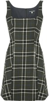 ALEXACHUNG Alexa Chung checked mini dress