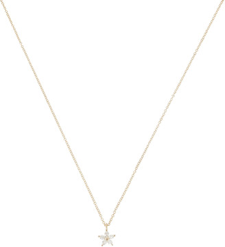 Ef Collection Marquise Diamond Flower Choker Necklace