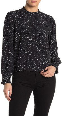 Abound Pintuck Front Long Sleeve Top