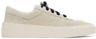 Fear Of God Grey Suede Skate Low Sneakers