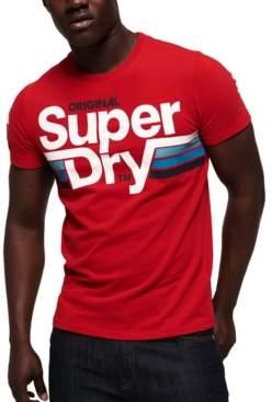 Superdry Men's Short Track Logo Graphic T-Shirt