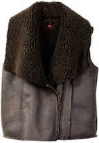Tea Collection Mendoza Faux Fur Lined Vest (Toddler, Little Girls, & Big Girls)