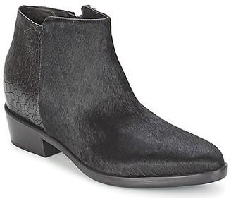 Alberto Gozzi PONY NERO women's Mid Boots in Black