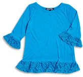 Planet Gold Girls 7-16 Lace Trim Top