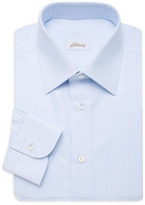 Brioni Micro Print Dress Shirt