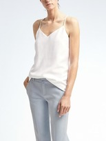 Banana Republic Easy Care Crepe Vee Cami