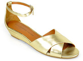 Marc by Marc Jacobs 635344 - Gold Wedge Sandal