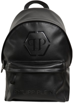 Philipp Plein Junior Faux Leather Backpack
