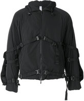 Cottweiler strap buckle jacket - men - Polyamide - S