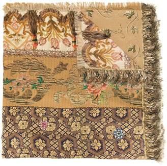 Pierre Louis Mascia Pierre-Louis Mascia mixed-print silk scarf