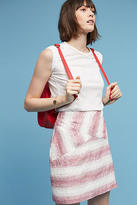 Hutch Sketched-Stripe Mini Skirt