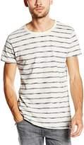 Lee Men's Stripe Tee Short Sleeve Sports Shirt,X