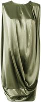 Gianluca Capannolo draped dress - women - Polyester/Triacetate - 42