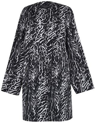 Marina Rinaldi Printed three quarter sleeve dress