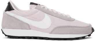 Nike Pink and Grey Daybreak Sneakers