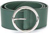 Orciani wide round buckle belt - women - Leather - 75