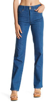 MiH Jeans Berlin High Rise Straight Leg Jean