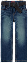 Arizona Original-Fit Belted Jeans - Preschool Boys 4-7