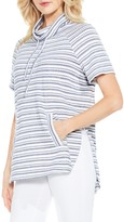 Vince Camuto Variegated Stripe Pullover