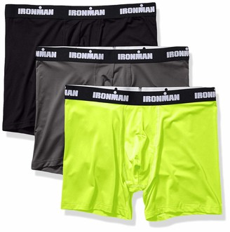 Iron Man IRONMAN Men's Multipack Performance Boxer Brief