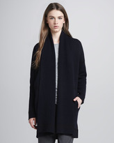 Vince Wool-Cashmere Open Cardigan
