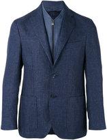 Corneliani two-button blazer - men - Linen/Flax/Cupro/Virgin Wool - 52