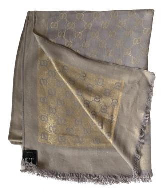 Gucci Gold Cashmere Scarves