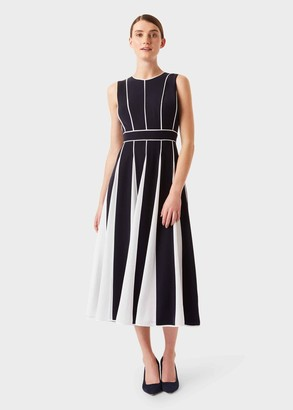 Hobbs Grace Fit And Flare Midi Dress