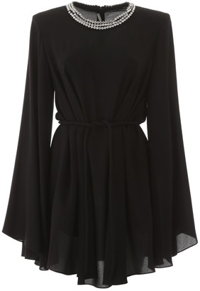 Stella McCartney Embellished Collar Mini Dress