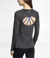 Exp Core Long Sleeve Cut-Out Tee