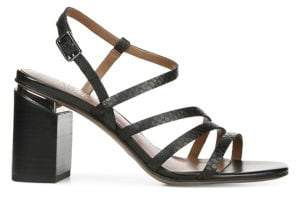 Franco Sarto Leather Heeled Sandals