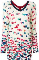 Twin-Set heart print jumper