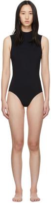 WARD WHILLAS Reversible Black Harrison One-Piece Swimsuit