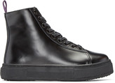 Eytys Black Kibo High-top Sneakers