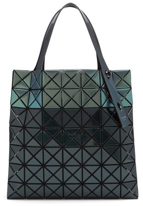 Bao Bao Issey Miyake Platinum Mermaid Pvc Tote Bag - Dark Green Multi