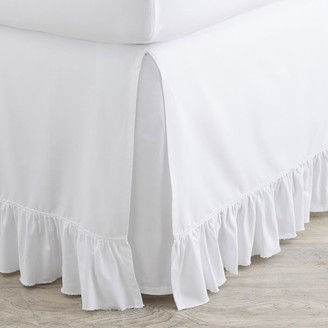 Pottery Barn Teen Washed Cotton Ruffle Organic Bedskirt