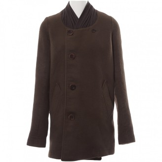 Rick Owens Brown Wool Coat for Women