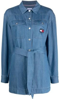 Tommy Jeans Tie-Fastening Denim Shirt