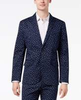 INC International Concepts I.N.C. Men's Woven Wheat Blazer, Created for Macy's