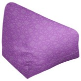 """Kitterman Bean Bag Ebern Designs Size: 27"""" H x 30"""" W x 25"""" D, Product Type: Bean Bag Chair, Upholstery Color: Light Red"""