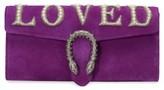 Gucci Dionysus Suede Clutch - Purple
