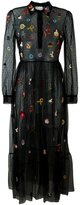 RED Valentino sequin details tulle dress - women - Polyamide - 40