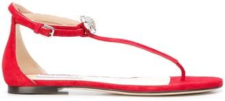 Jimmy Choo Afia flat sandals