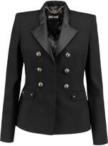 Just Cavalli Embellished crepe blazer