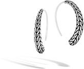 John Hardy Women's Classic Chain Small Hoop Earring in Sterling Silver