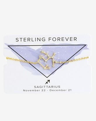 Express Sterling Forever Gold Sagittarius Constellation Bolo Bracelet