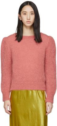 ALEXACHUNG Pink Meadow Sweater