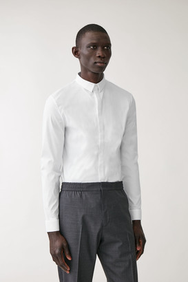 Cos Slim-Fit Stretch Shirt