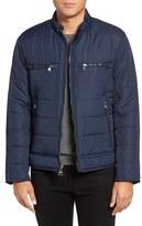 Andrew Marc Men's Belknap Quilted Moto Jacket