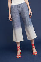 Illia Dip-Dyed Cropped Wide-Legs
